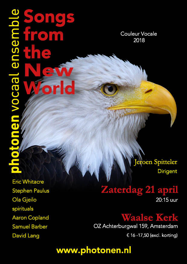 Uitgaansagenda Amsterdam: Photonen Zingt Songs From The New World