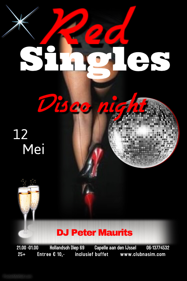 Uitgaansagenda Capelle Aan Den Ijssel: Red Ingles Disco Night
